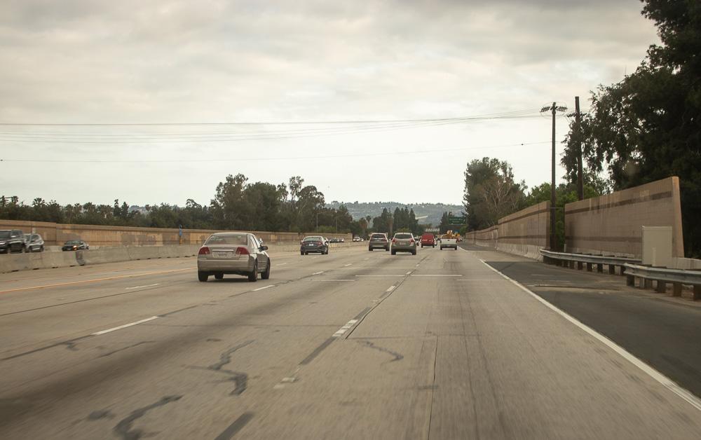 Orange County CA - Auto Crash with Injuries on I-5 S