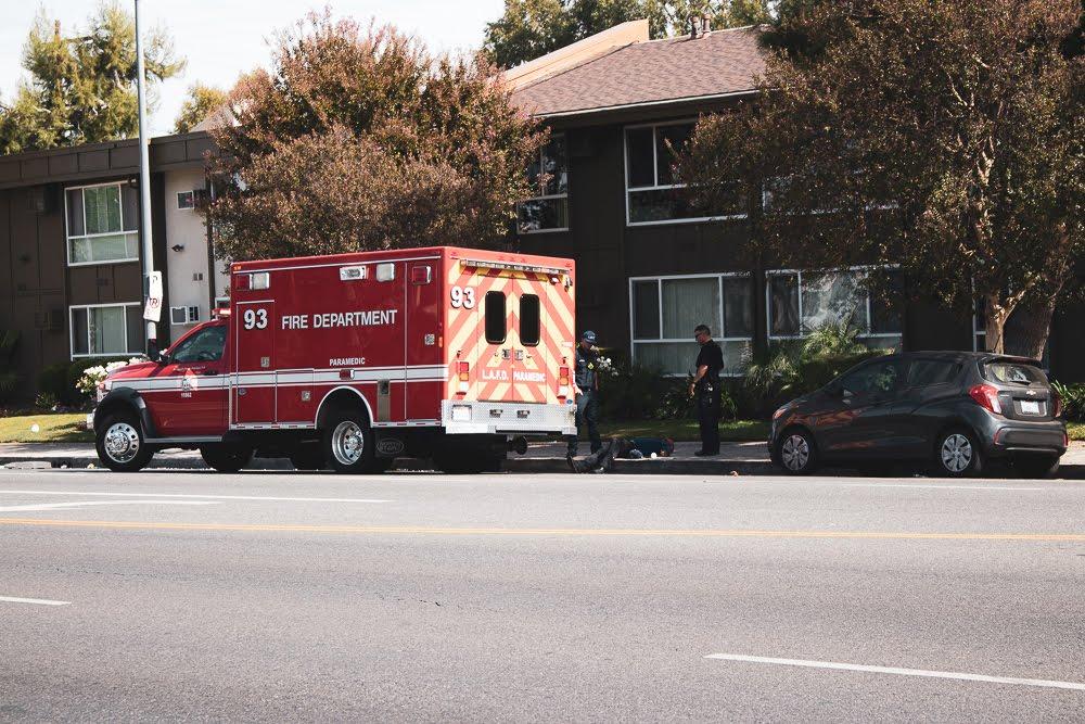 Orange County CA - Injury Collision on I-5 N