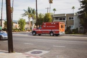 Santa Ana CA - Car Wreck Causes Injuries on I-5 near SR-22