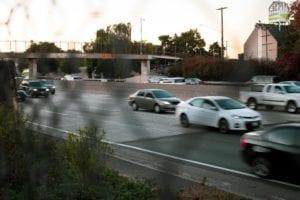 Orange County, CA - Auto Crash with Injuries on I-605 N at Katella Ave