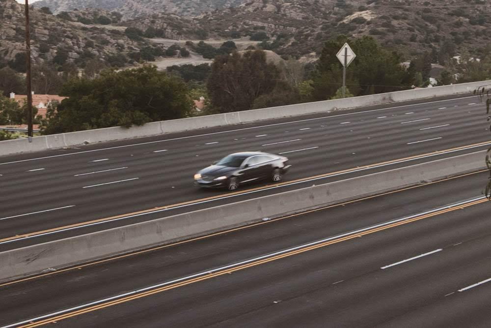 Santa Ana, CA - Injury Crash on I-5 N