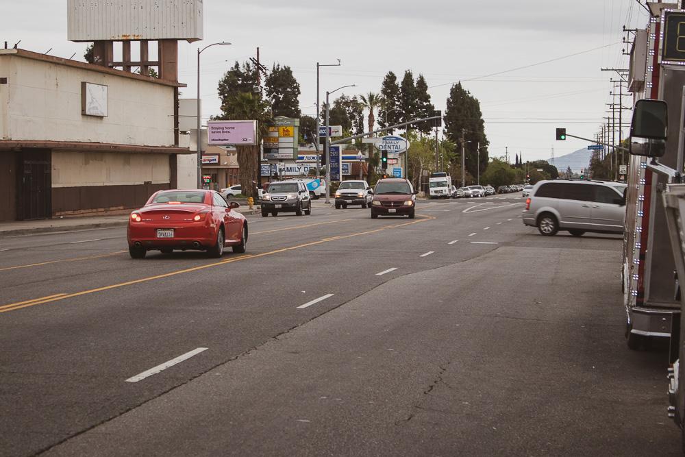 Santa Ana, CA - Injury Crash on I-405 S Near Sand Canyon Dr
