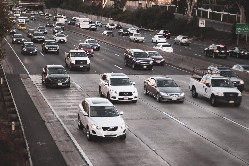 Santa Ana, CA - Car Accident on SR-55 near McFadden Ave with Injuries