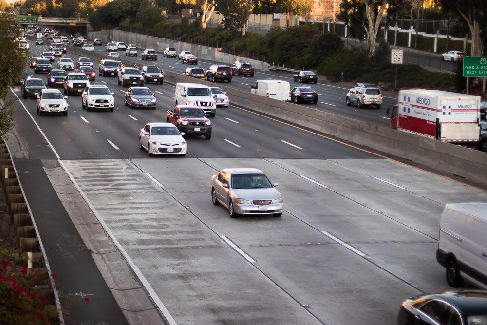 Santa Ana, CA - Injury Collision on I-5 S near Barranca Pkwy