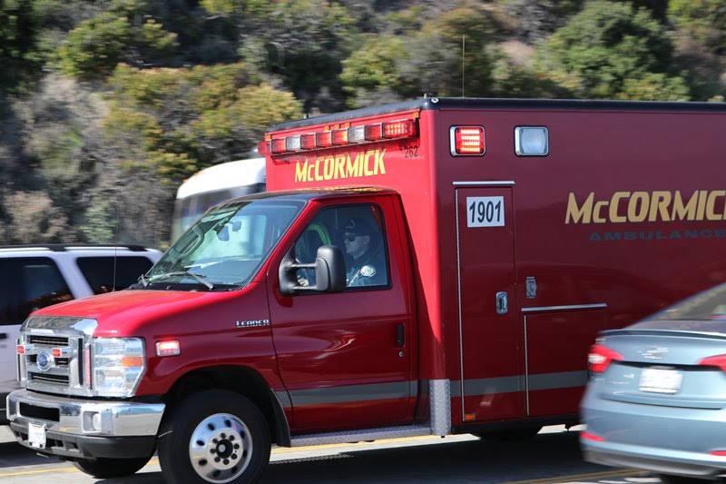 Santa Ana, CA - Auto Accident on I-405 N near Harbor Blvd with Injuries