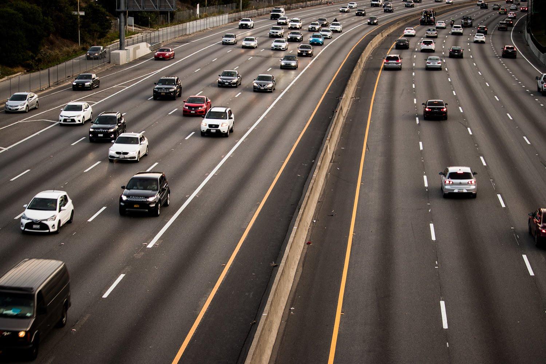 Orange County, CA - Injury Wreck on I-405 N near Goldenwest St N On-Ramp