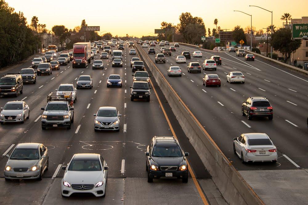 Santa Ana, CA - Injury Wreck on I-5 S near Chapman Ave Requires EMT Response